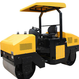 Mini Road Bestrating Nivellering Machine China Road Roller Compactor Roller