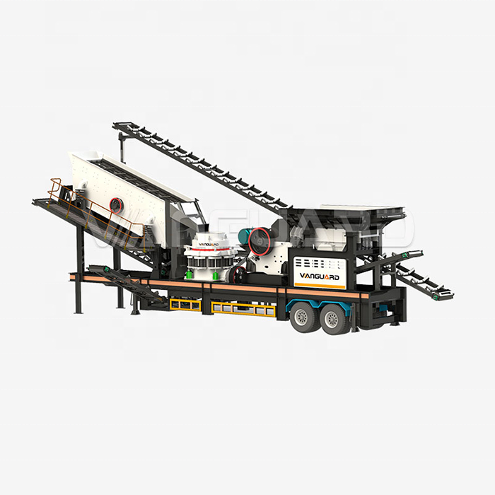 Good Price Mobile Stone Jaw And Cone Crusher Rock Crushing And Screen Plant Machine For Sale