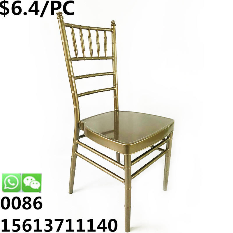<span class=keywords><strong>Silla</strong></span> popular <span class=keywords><strong>de</strong></span> <span class=keywords><strong>metal</strong></span> apilable para banquete, comedor, tiffany