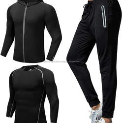 Custom Unisex Running Sports Track Suit Women Workout gym Track suits