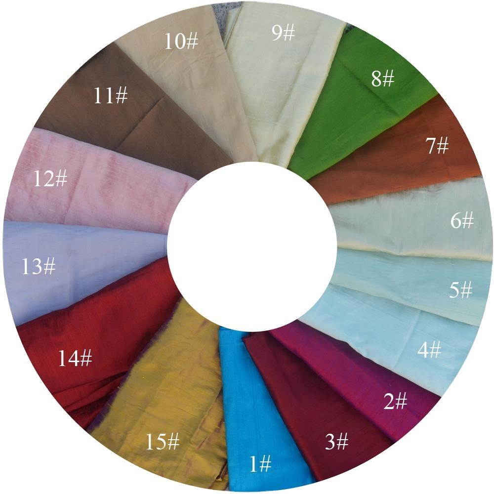 tailor shop Color-changing silk double palace fabric mulberry silk cloth straight raw silk