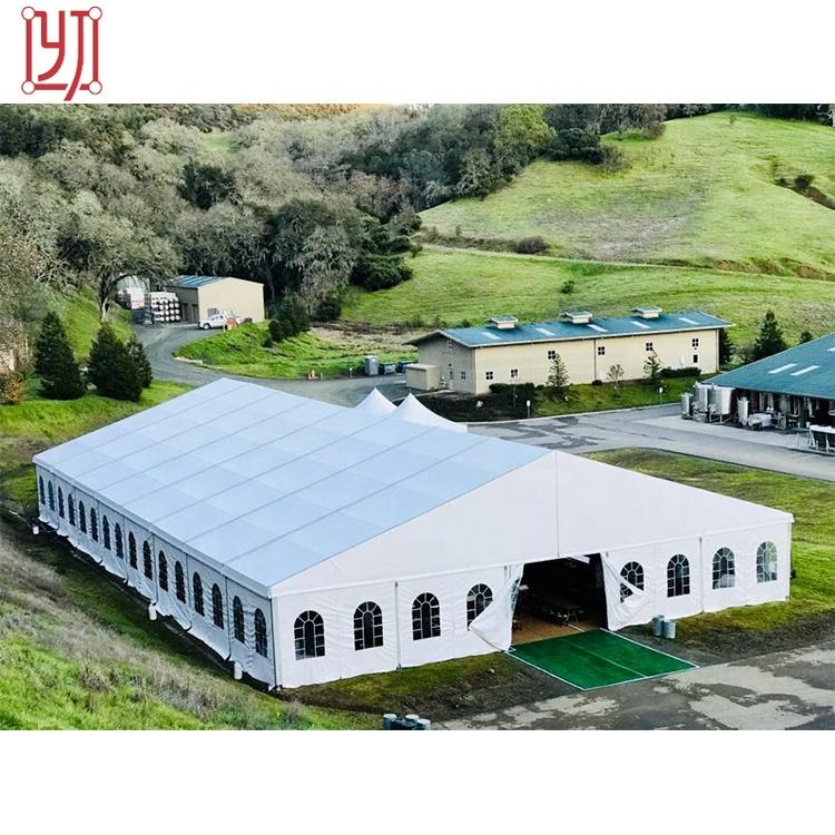Custom outdoor aluminum 1000 people capacity wedding party event marquee tents for sale