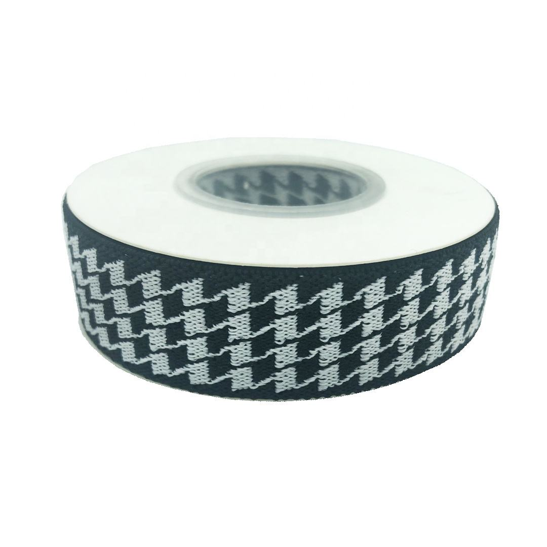 Clothes decoration lace classical Houndstooth craft elastic band