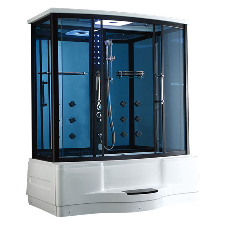 whirlpool bath indoor steam shower room 2 person