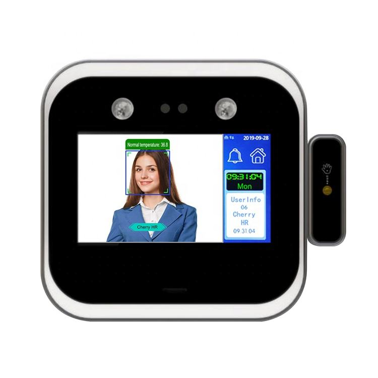 Timmy TM-DF05TW Wrist Measuring Non Contact Face Recognition Time Attendance System RFID