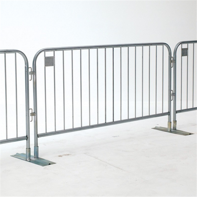 China manufacturer metal crowd control barrier safety barrier for sale