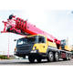 2009kN.m STC500S 50 Ton Mobile Crane , truck with crane