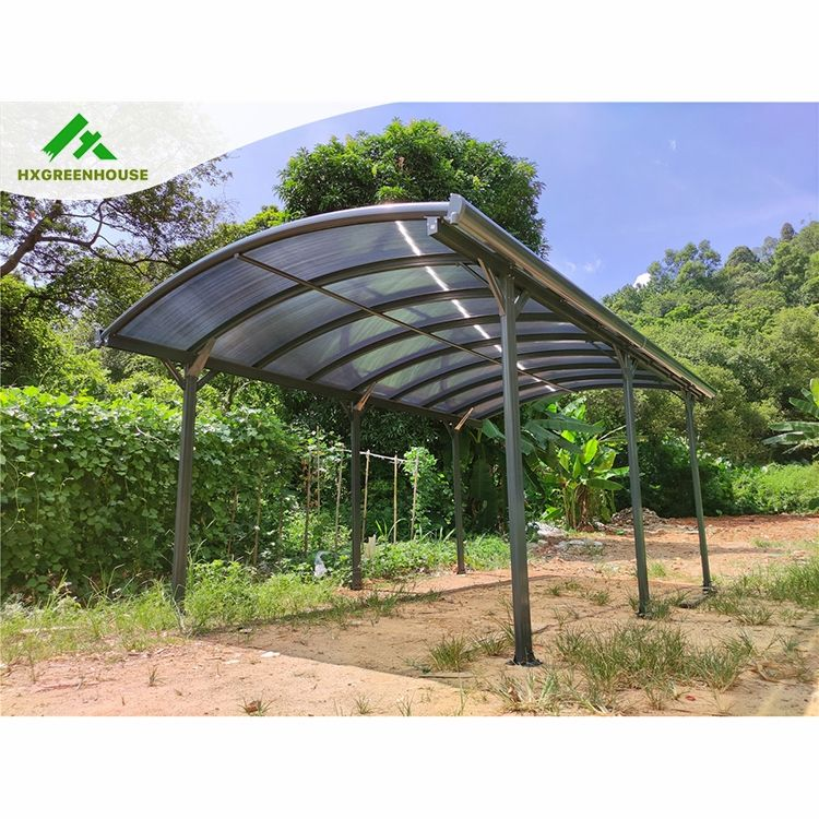 New ceiling japanese shading permanent sunshade canopy wind resistant 10x20 metal waterproof aluminum carport with skylight roof