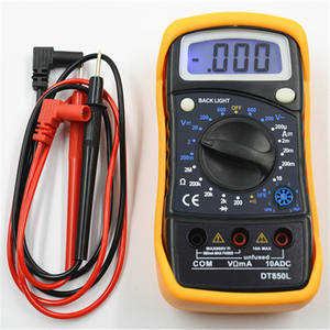 Digital Multimeter Testing Hand-held Electric Tool With Backlight DT850L