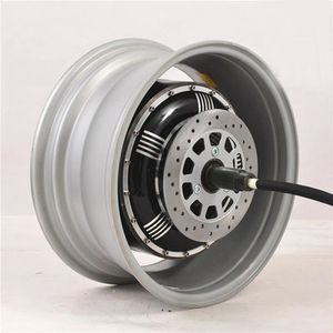 72V 90KPH electric car motor conversion kits dual 3000W hub motor kits for car