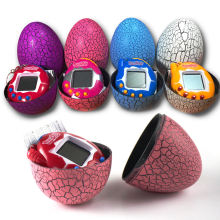 Tumbler Toys Tamagochi Virtual Pet Game Machine Dinosaur Egg Toy Digital Electronic E-pet Retro Cyber Toy Handheld Game For Kids