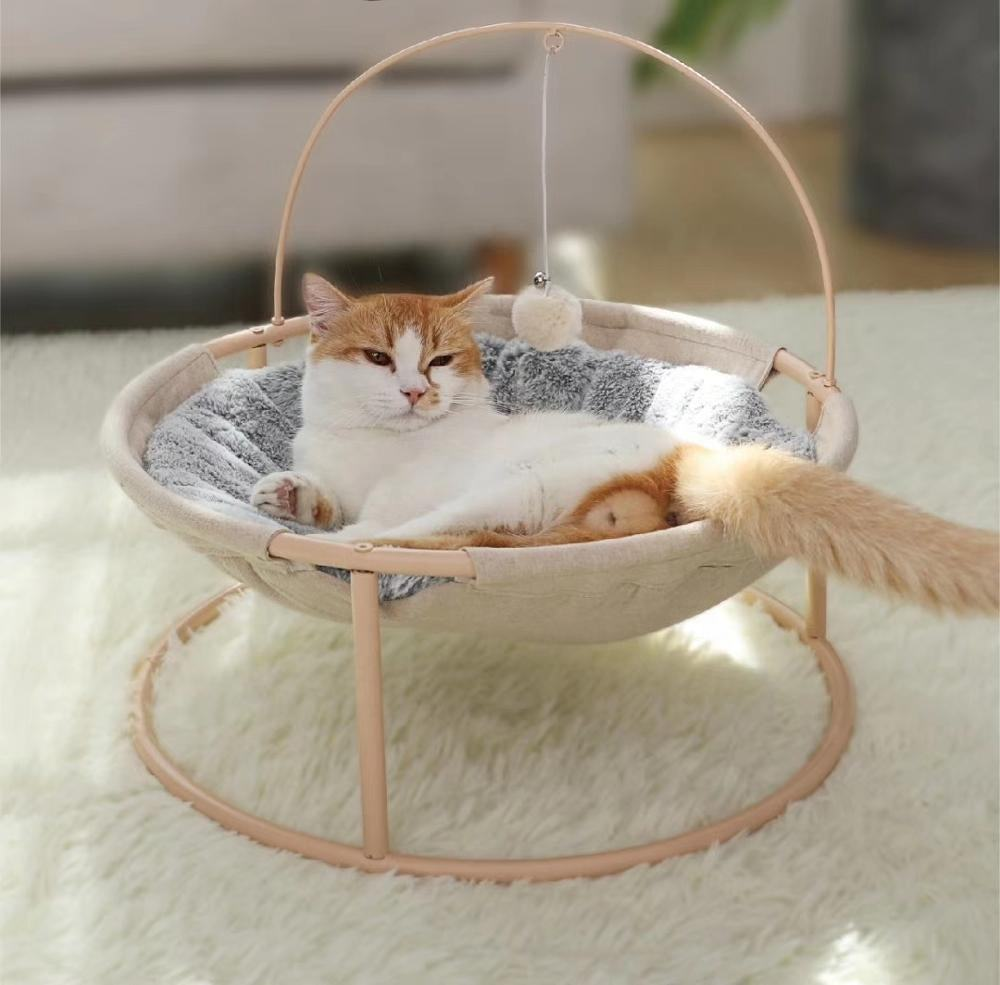 Pets Cats Bed Tent Lounge Rocking Chair