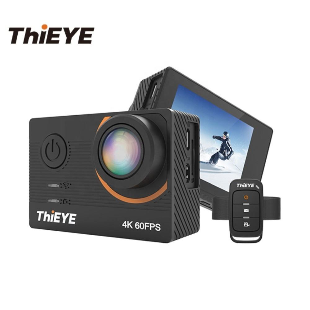 ThiEYE T5 Pro Live Stream Remote Control Touch Screen Ultra HD 4K 60fps WIFI Waterproof Action Sports Cameras
