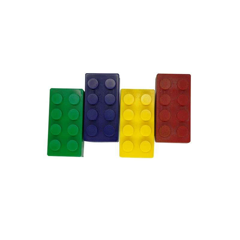 Wholesale Kids Gifts Educational Toy PU Foam Rectangle Building Block Toys For Children