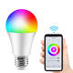 Amazon Supplier A60 10w Smart LED Bulb Super Bright 2700-6500K Compatible With Tuya Google assistant Alexa