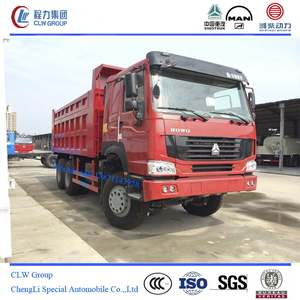 sinotruck howo 25 tons 16m3 dump tipper truck for sale
