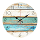 Promotional Clocks 12 Inch Promotional European Natural Vintage Wooden Wall Clocks For Home Decor