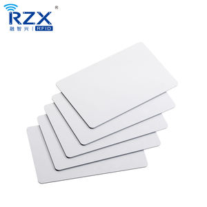 13.56Mhz MIFARE Plus X 2K 4K Blank PVC RFID NFC Card Ticket for public bus transportation