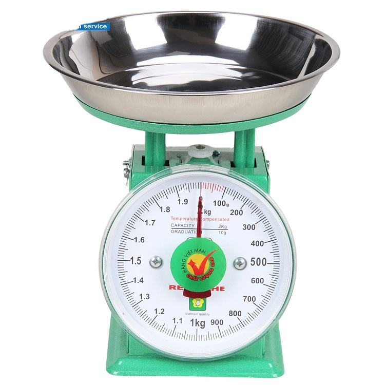 Best Price 500グラム5キロPortable Mechanical Balance Spring Dial Platform Weighing Scaleとトレイ