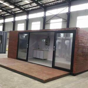 China luxury modern cheap prefab homes design prefabricated tropical bathroom kitchen beatroom wooden container home price