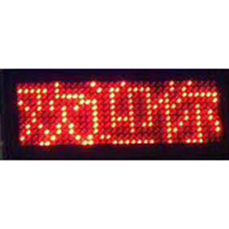 Wifi led display car message board scrolling led display bluetooth