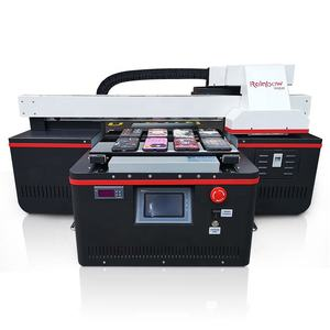 Industrial business card UV printer digital name card cd dvd pvc id card ceramic inkjet printer for sale