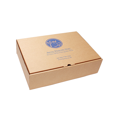Small plain custom logo product shipping postal packaging kraft brown corrugated mailing box