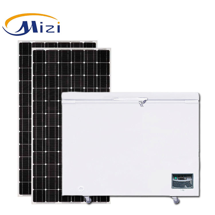 308L Solar Energy 12v 24v DC Deep Chest Freezer