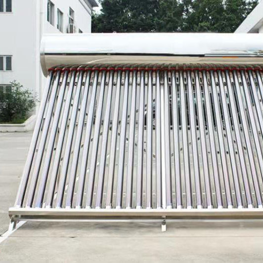 Super Quality Stainless Steel Solar Water Heater 15 tube 150L tank model SWH-1504