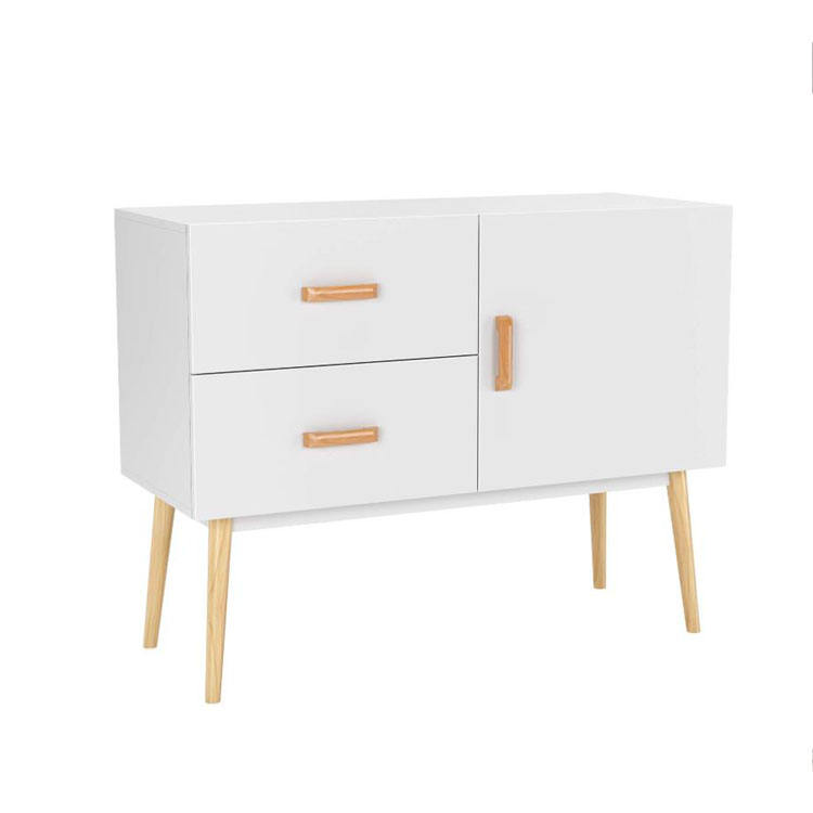 High solid leg cheap price OEM wooden sideboard kitchen cabinet designs
