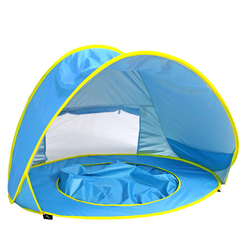 easy pop-up portable lightweight baby beach tent kids play tent for sun shelter
