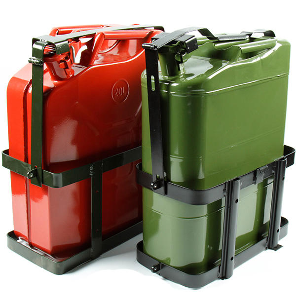 NATO Military Petrol Gasoline Diesel Jerry Can With Secure Holder Mount And Rigid Pouring Spout 10L/20L