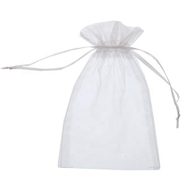 Sheer <span class=keywords><strong>Organza</strong></span> Tasje Pouches Wedding Party Kerst Favor Gift Bags