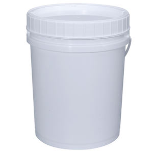 UMETASS High Quality Food Grade 5 Gallon 20L Plastic Bucket With Screw Lid