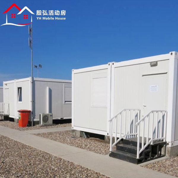 Factory Prices Container House Fully Assembled Modular Double Bedroom Prefab House Sale Custom Customized PVC Box Wall Window