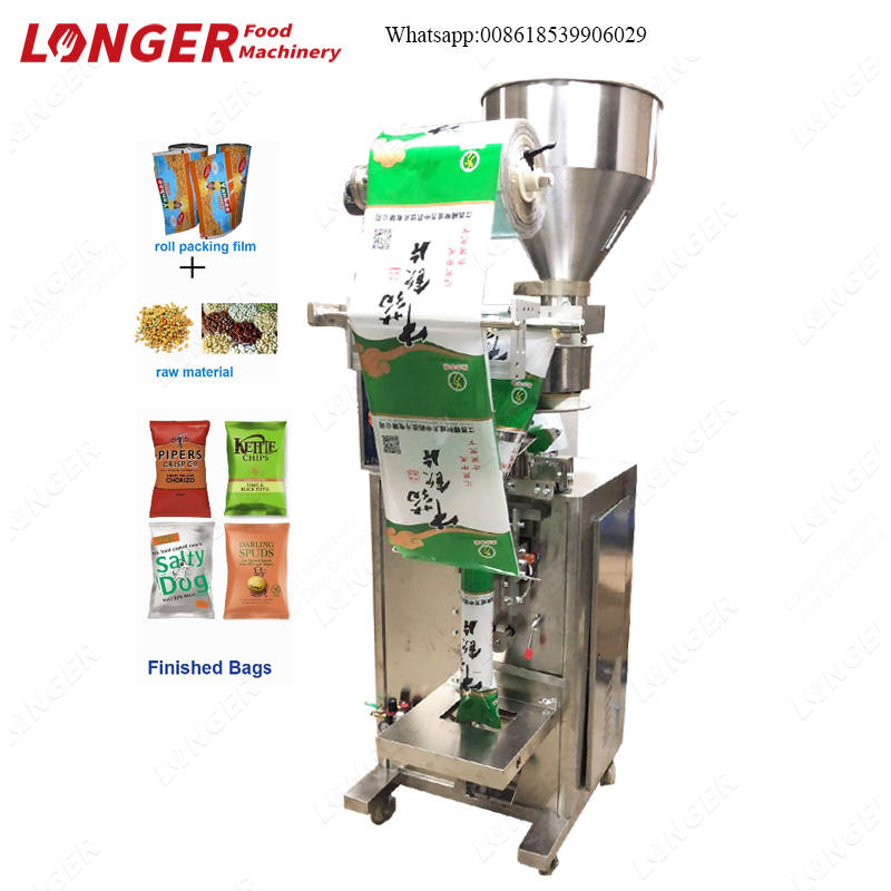 LK-350 Dried Plum Durian Chips Gram Packaging Corn Seed Food Stuff Packing Machine