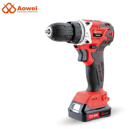 12V Share Power Rechargeable Cordless Drill Impact Screwdriver Driver Drill