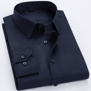 Manufacture High Quality Solid Color Men's Non Iron Dress Shirts