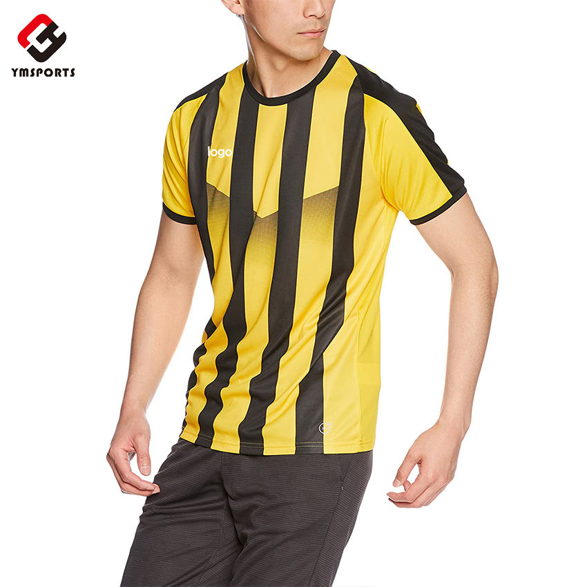 Custom sublimation sports wear/soccer kit/football jersey and shorts soccer uniform set