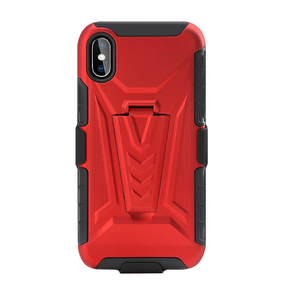 3 in1 Heavy Duty Robot Rugged Back Holster Cover for iphone 11 Combo Cell Phone case With Belt Clip for Sam A11 A21 A31 A51 A71