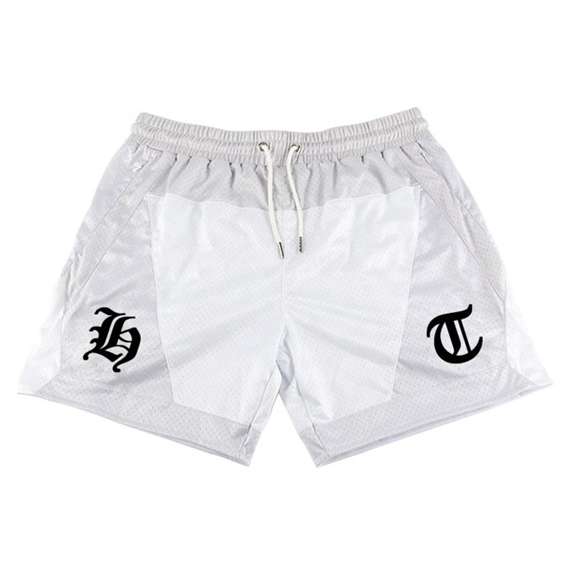 Shorts Men Clothing Quick Dry Polyester /Spandex/Nylon Customized Sports Training Gym Shorts Wholesale