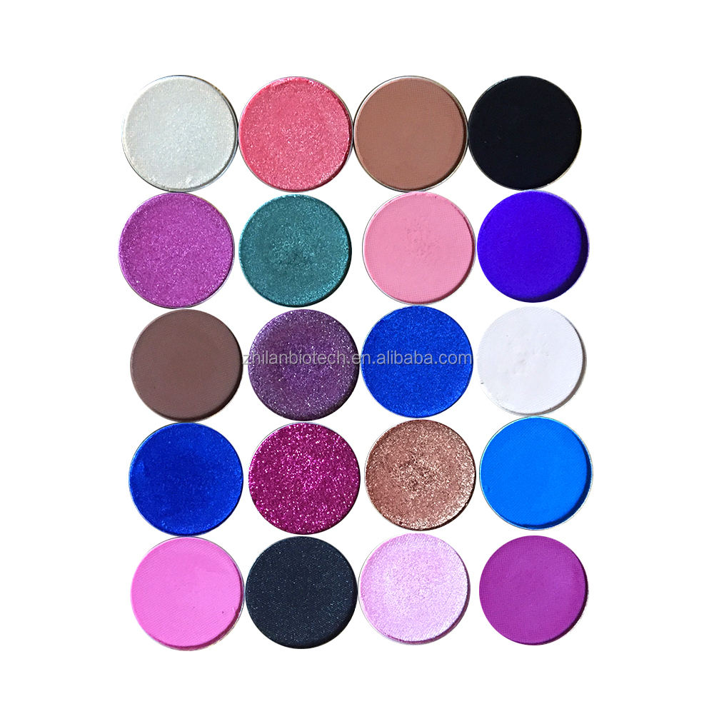 hot selling Fashional cosmetic 26mm multi-colour single eyeshadow with customer label