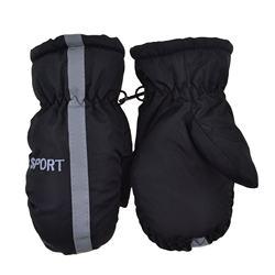 1 Pair Cute Children Kids Warm Ski mitten Winter Ski Mittens For Girls Boys Warm Winter mitten Outdoor Waterproof  mitten