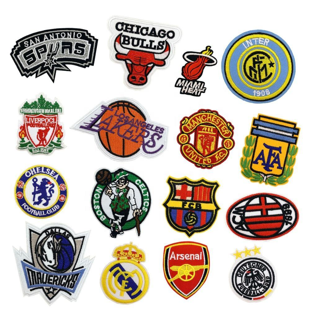 Nickel-free [ Embroidery Labels ] Customembroidery Embroidery Patch Customized Non-woven Fabric Embroidery Shoulder Labels Badges Patch Logo