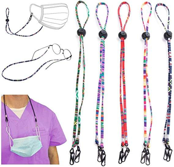 Hot Amazon Hot SellingのMultifunction Masking And Glasses Lanyard Unisex Masking Strap、Anti失われたMasking Extender Lanyard