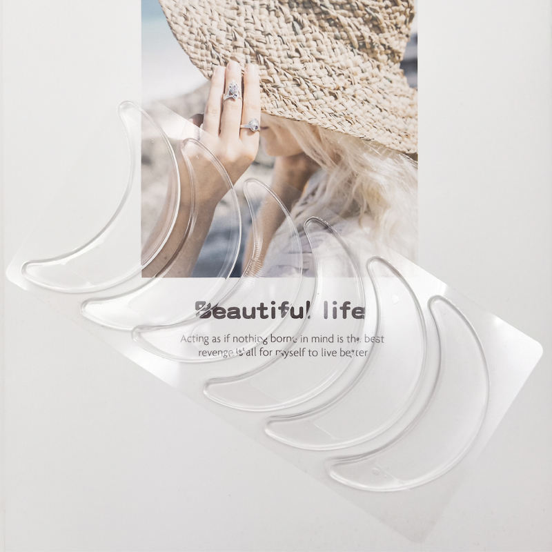 Skin Care Thin Transparent Waterproof Hypoallergenic Anti Wrinkle Eye Pad