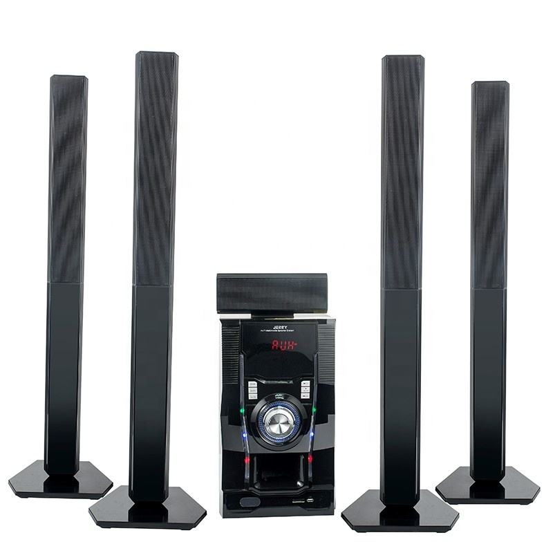 JERRY 5.1 Speaker Teater Rumah Profesional, Pengeras Suara Surround Sound 5.1 Speaker Teater Rumah 5.1 Bluetooth