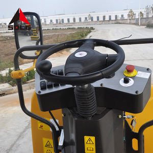 SDLG RD730 high efficiency hydraulic double drum vibratory compactor road roller for sale