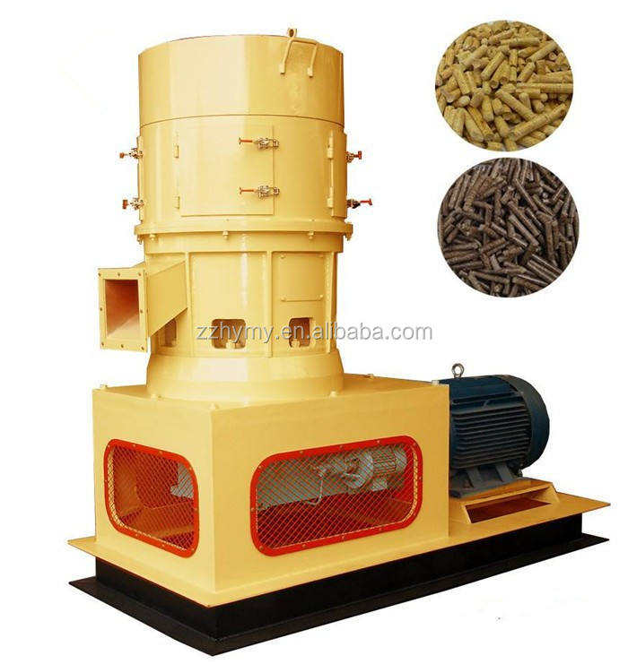 Automatic tractor driven sawdust pellets making machine 0086 18039505731