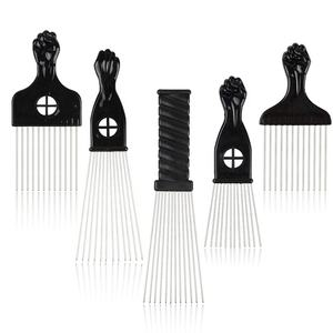 Afro Hair Comb Black Black Magic Hair Comb Black Salon Hair Comb